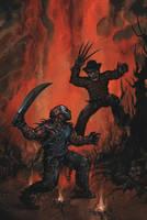 Freddy vs Jason by adamgeyer