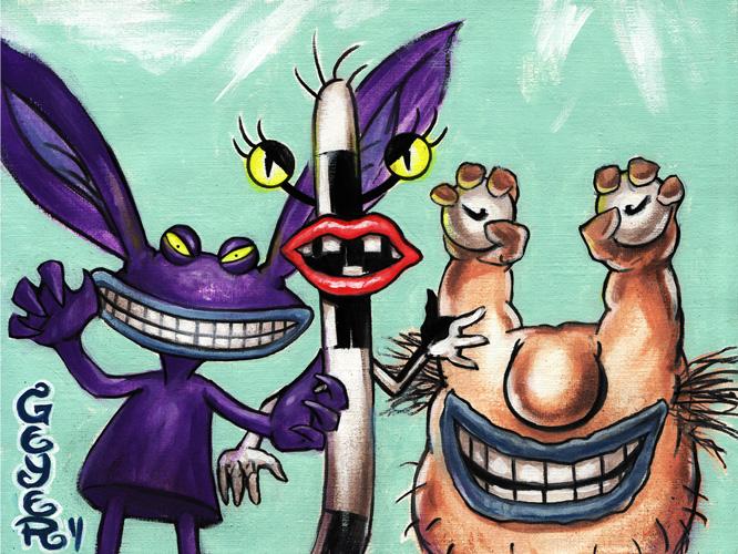 AAAHH Real Monsters by adamgeyer