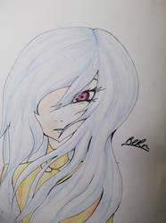 Pencil Crayon drawing~~~ by higurashi-9