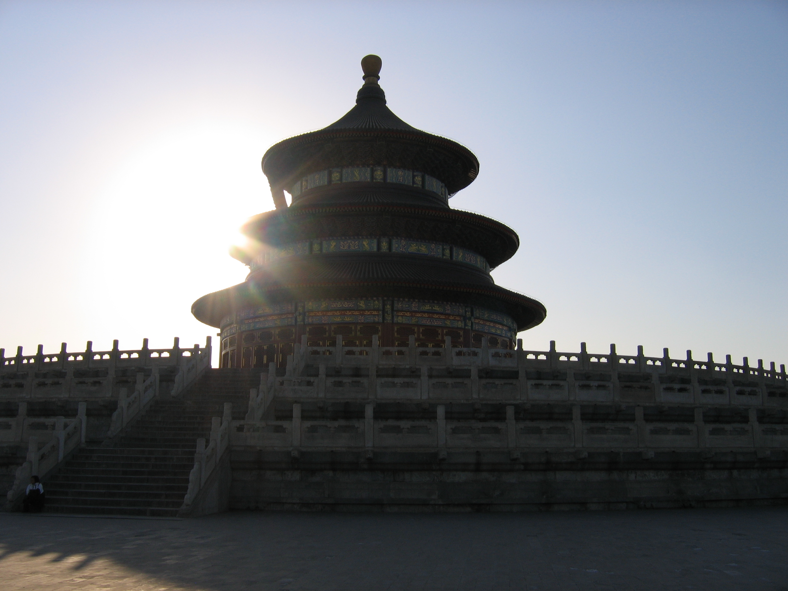 Temple of Heaven, in Beijing by worm-food