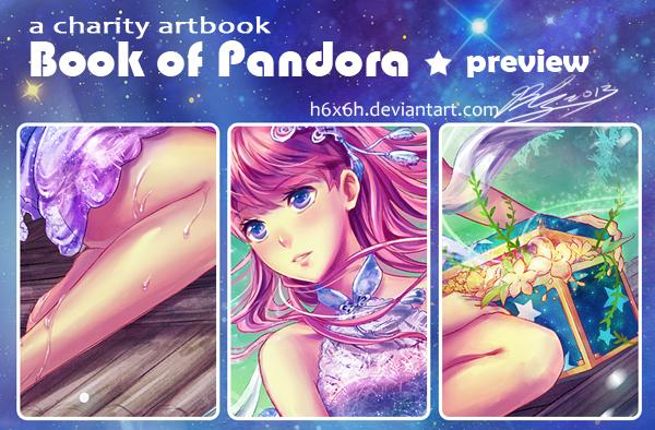 My entry for Book of Pandora by h6x6h