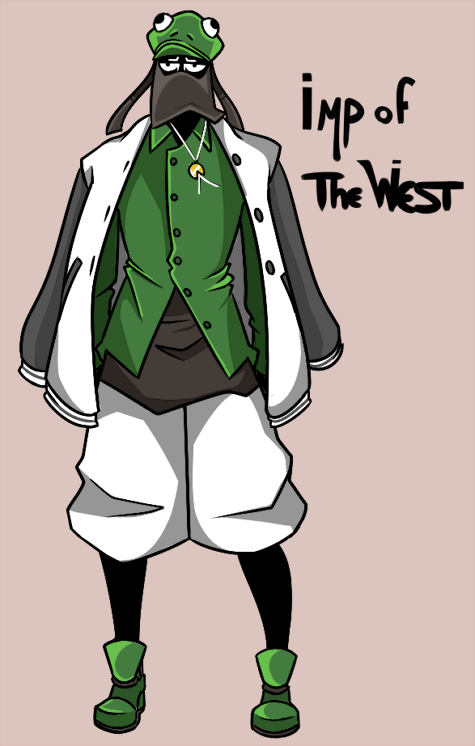 Imp of the West: Full Body by TheDarkHarbor