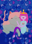 Princess Bubblegum's cat Timmy!