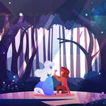 The Answer | Ruby and Sapphire Steven Universe by kyasarinnlove