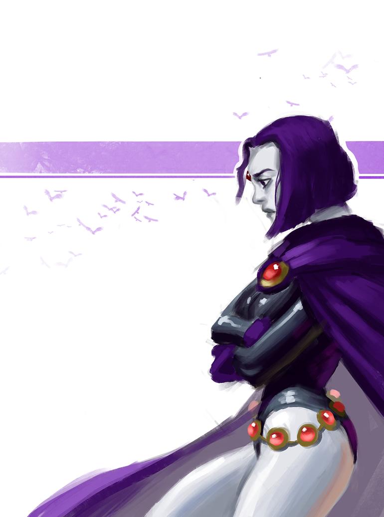 Raven by Rhydwyn
