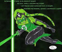 Twi'lek - the Green Lantern by JohntheSilver