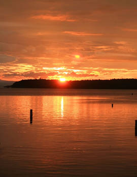Sunset On Fire by BeautifulDragon322