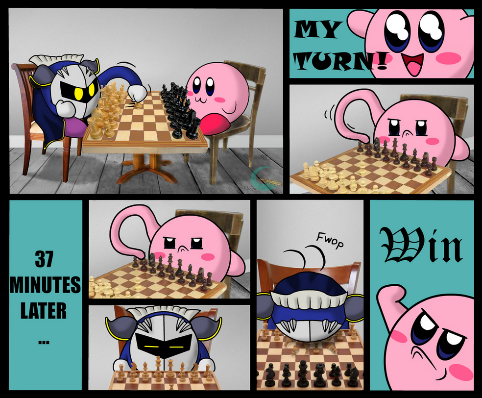 Kirby and meta knight have a chess duel by galaxianista on deviantart kirby and meta knight have a chess duel by galaxianista voltagebd Image collections