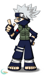 Kakashi: Panty and Stocking Inspired
