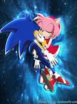 Sonic X- Sonamy -kiss of life