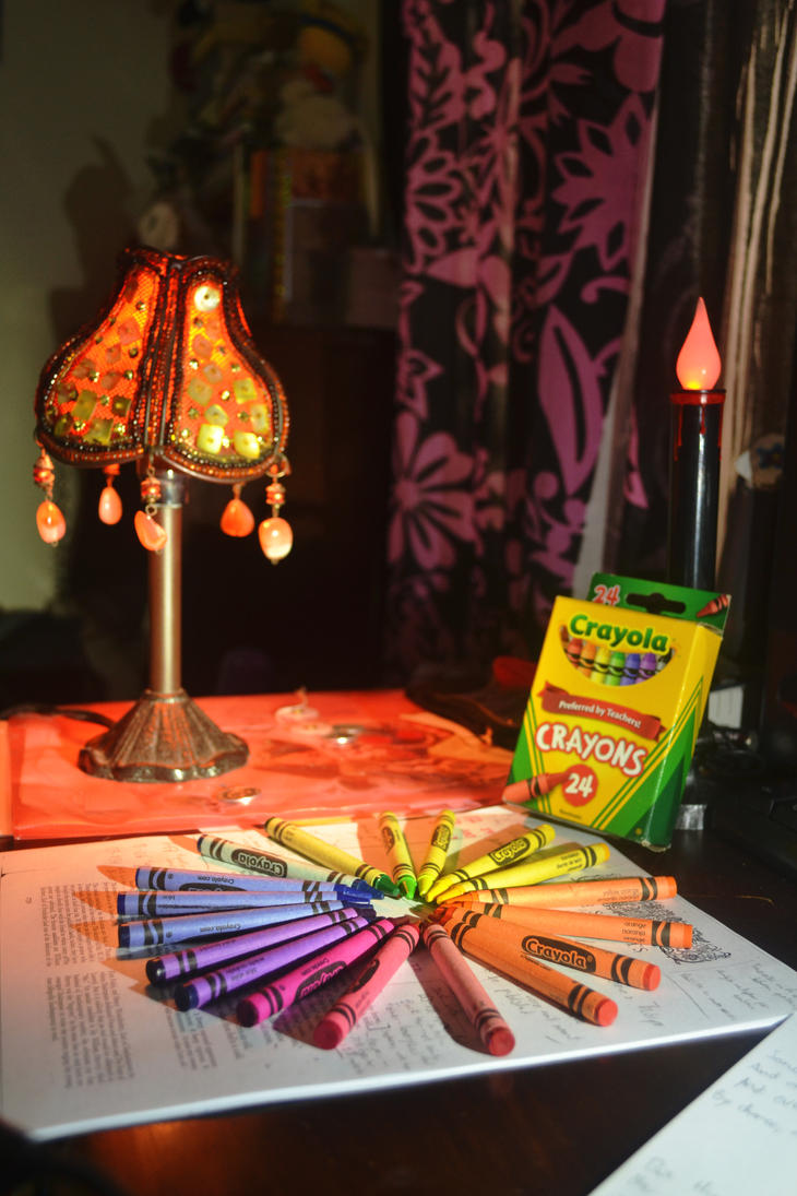 Colorful Desk by elendoy