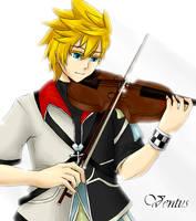 KH:BBS-Ventus-Violin by nikkeruu