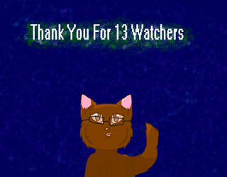 Thank you for 13 watchers! by Pokemonfangirl1