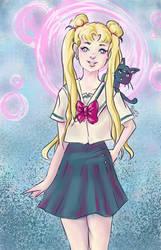 She is the one - Sailor Moon! by rowanchur