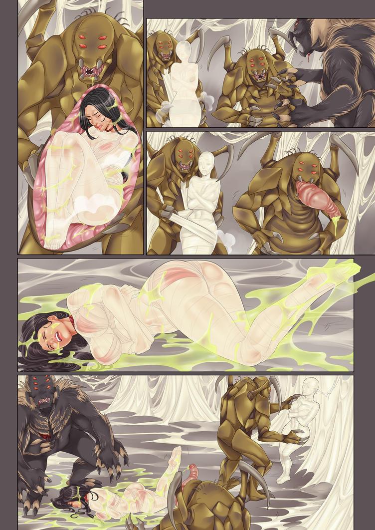 Forest of silk part 26 (internal views) by Ghrolath4