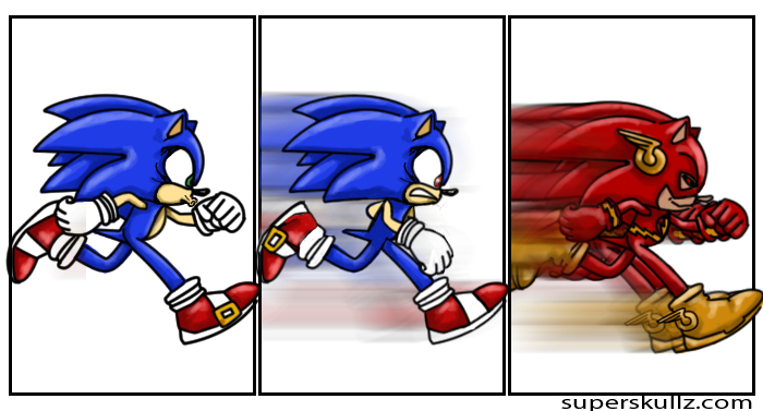flash vs sonic - photo #36