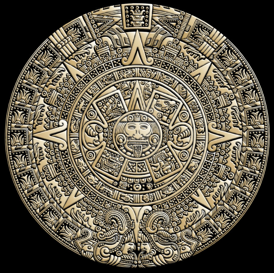 AZTEC CALENDAR 136644637 on Astronaut Craft