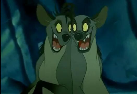hyena lion king banzai