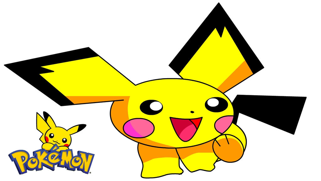 mi dibujo de pichu de pokemon n.n by onistraightedgeart on ...