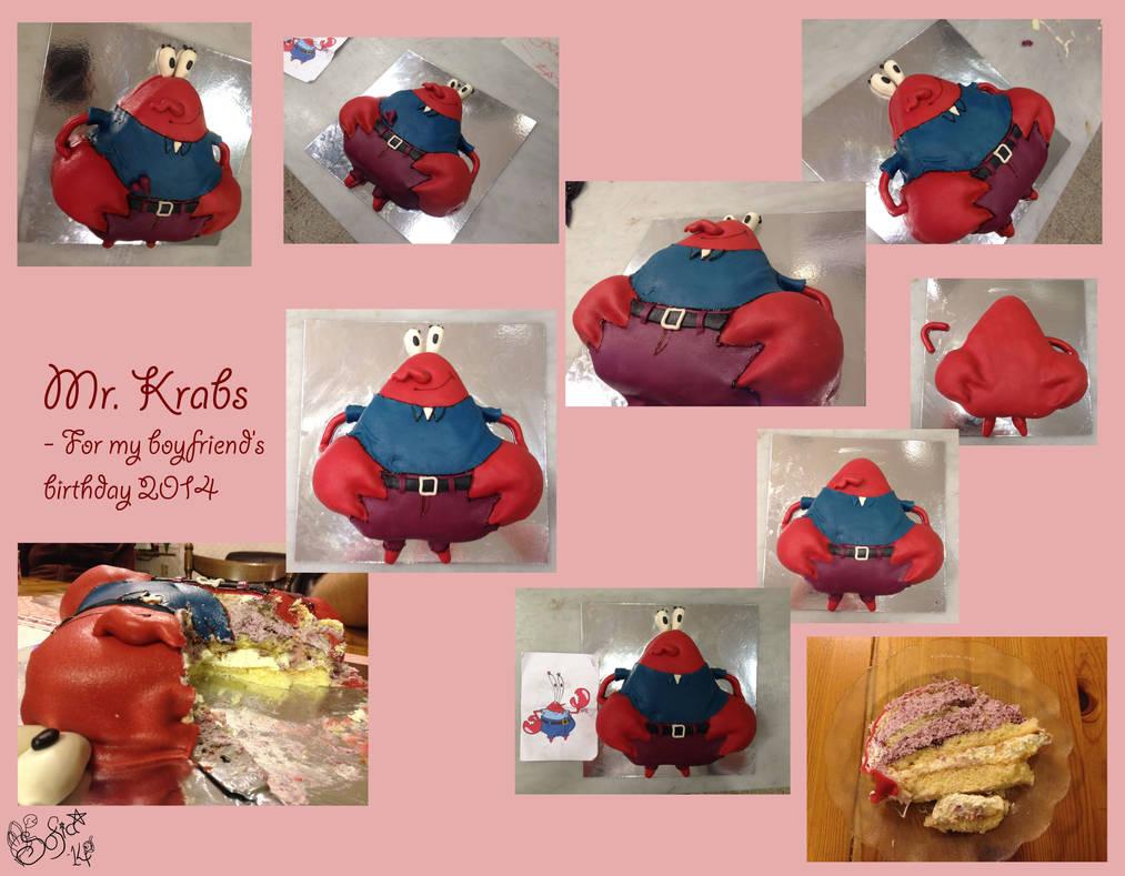 Mr Krabs - collage by Gwendelyn on DeviantArt