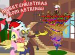 HAVE AN EVEN HOLLIER-JOLLIER CHRISTMAS