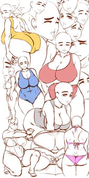 anatomy doodle 8