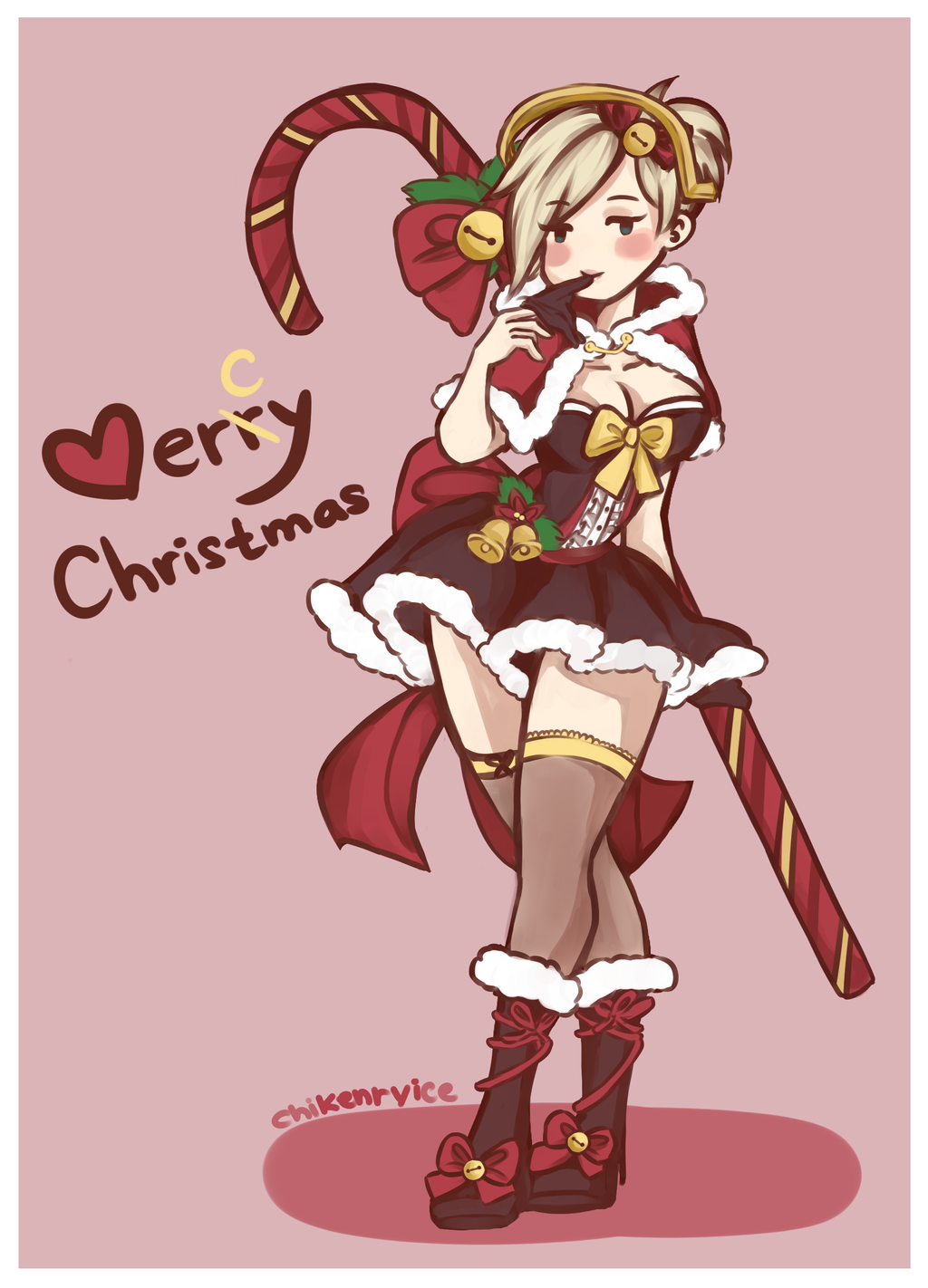 Christmas Mercy by kenryi on DeviantArt