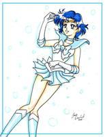 :: SAILOR MERCURY :: by AnimeJanice