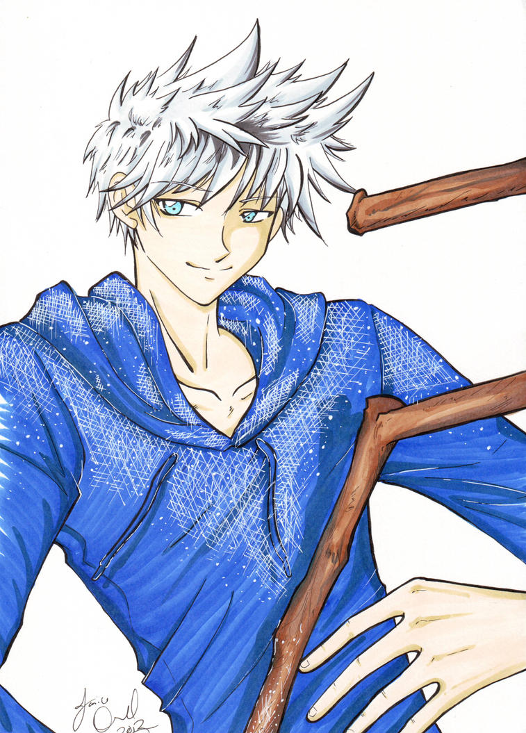 ROTG Jack Frost by AnimeJanice