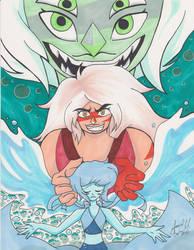 Steven Universe Love Hate by AnimeJanice