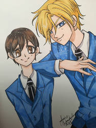 Ouran Highschool Host Club by AnimeJanice