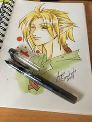 Randomness Elf Guy by AnimeJanice