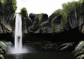 cachoeira by raqsonu