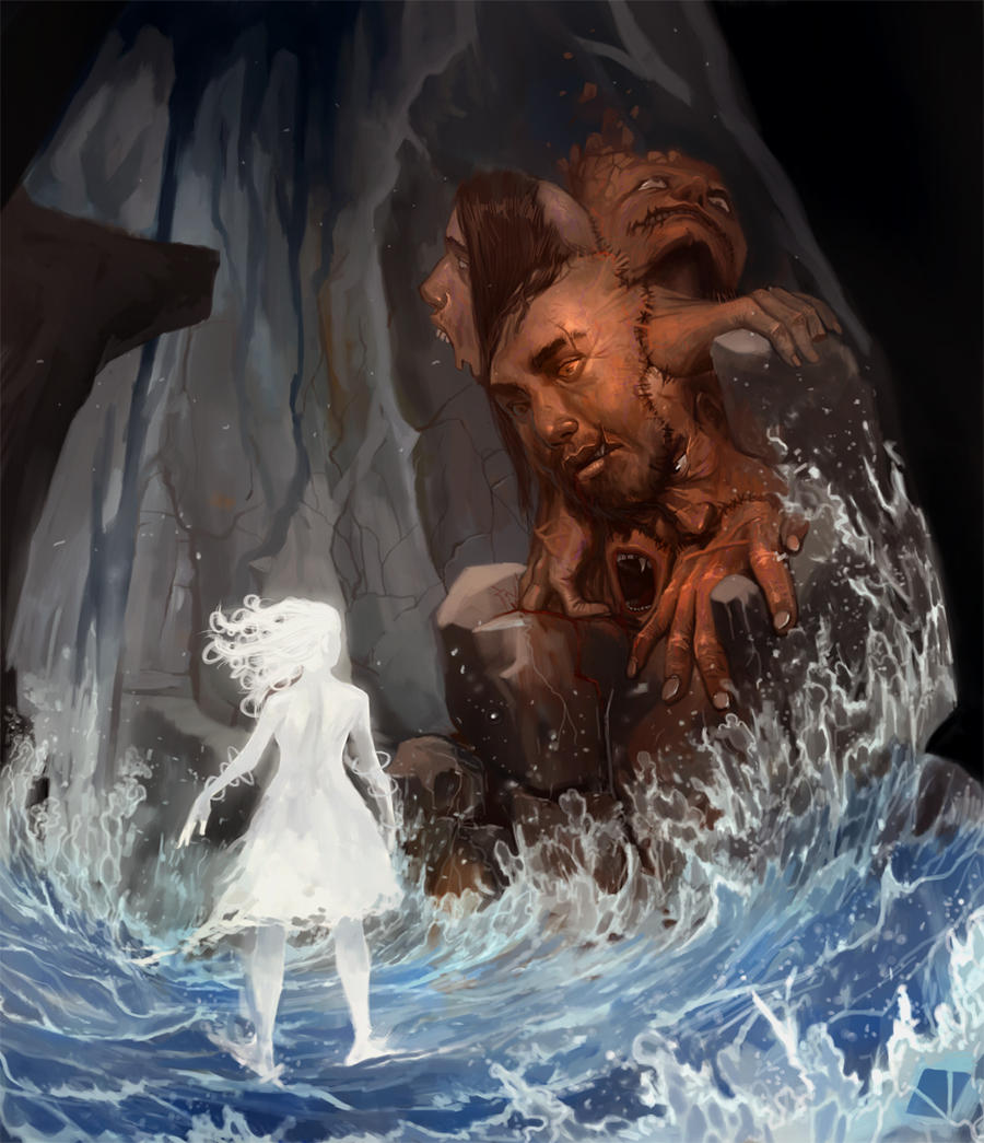 Luz e a besta moribunda by raqsonu