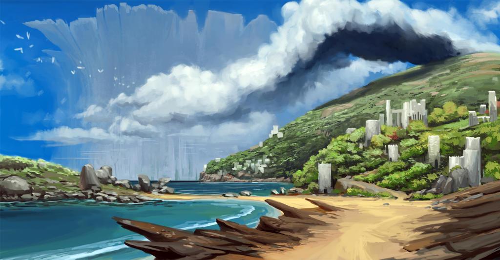 The distant Duhu by raqsonu