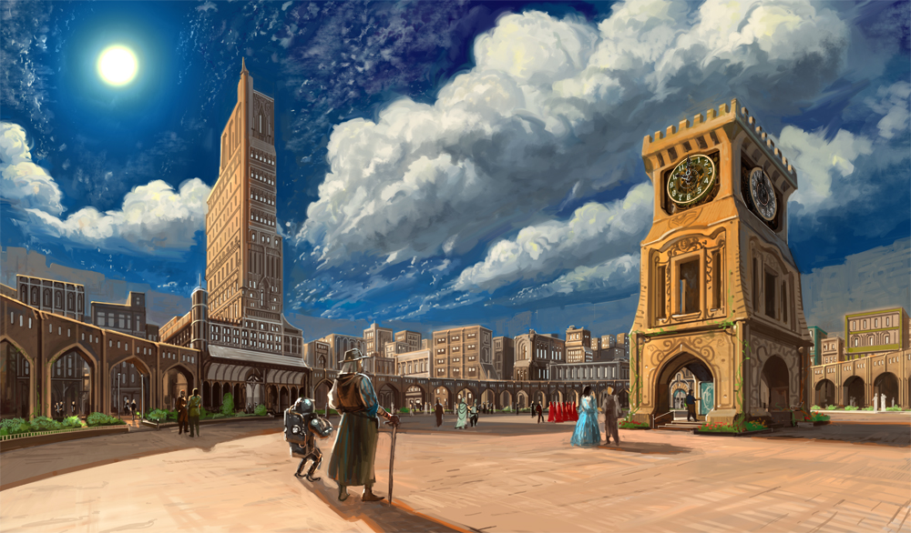 City by raqsonu