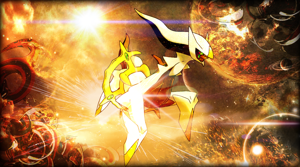 Arceus Hd Wallpapers: Arceus GFX Desktop Wallpaper By ReshiramDesigns On DeviantArt