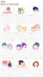BNHA Birth Flower Calendar