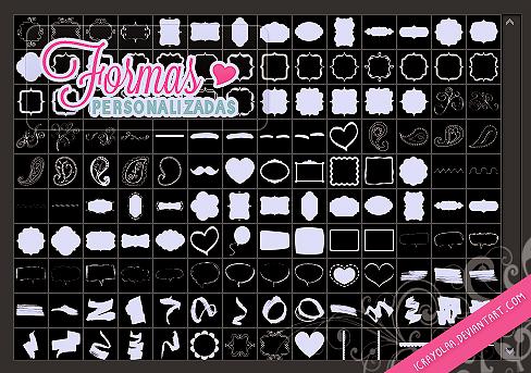 Todas mis Formas Personalizadas by iCrayolaa