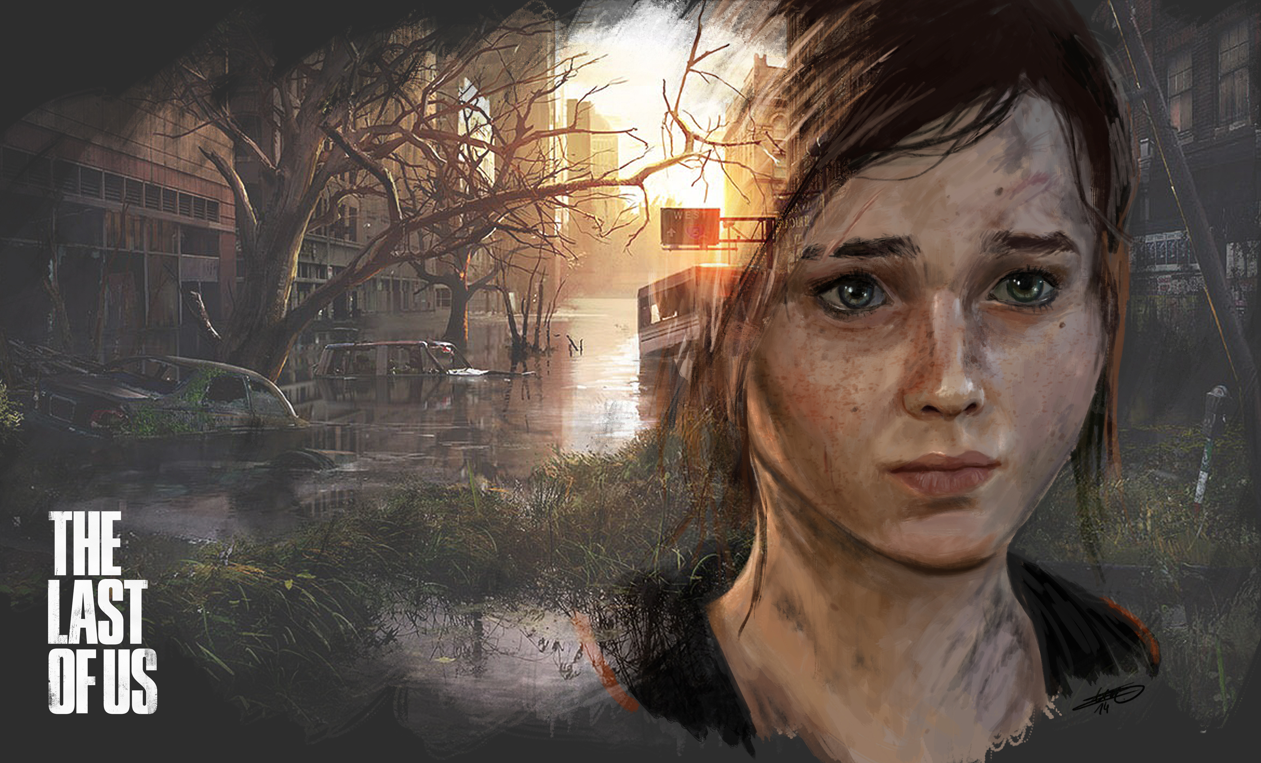 Ellie The Last Of Us Wallpaper: The Last Of Us By LoiccoiL On DeviantArt