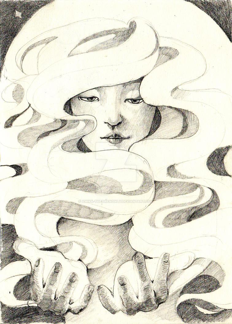 dearest moon by Amika-theonenonly