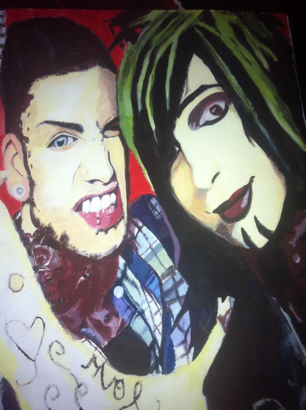 Jayy Von Monroe and Dahvie Vanity by MonsterBatmanJayy Von Monroe And Dahvie Vanity 2014