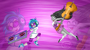 Equestria Girls - DJPon VS Octavia
