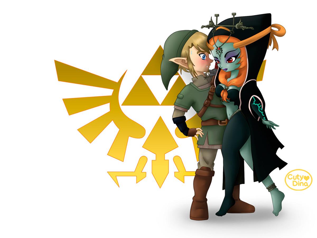 Zelda- Twilight Princess Fanart