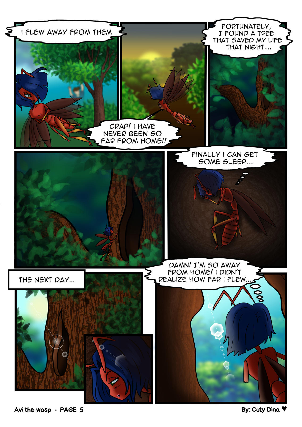Avi the wasp - Page05