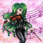 Latex violin