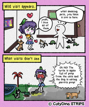 My life in doodles - My Pets