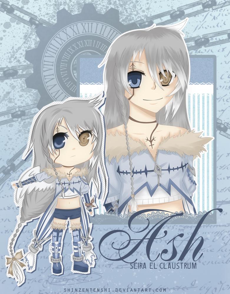 OC : Ash by shinzentenshi
