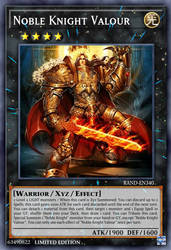Noble Knight Valour by zaziuma