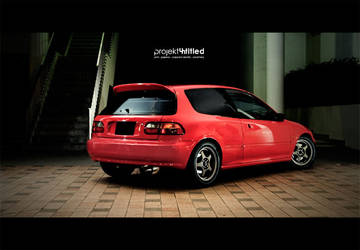 Civic Eg6 Rear by solace69
